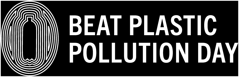 One_Colour_Logo-WHITE-BeatPlasticPollutionDay_RBG
